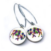 buffalo earrings