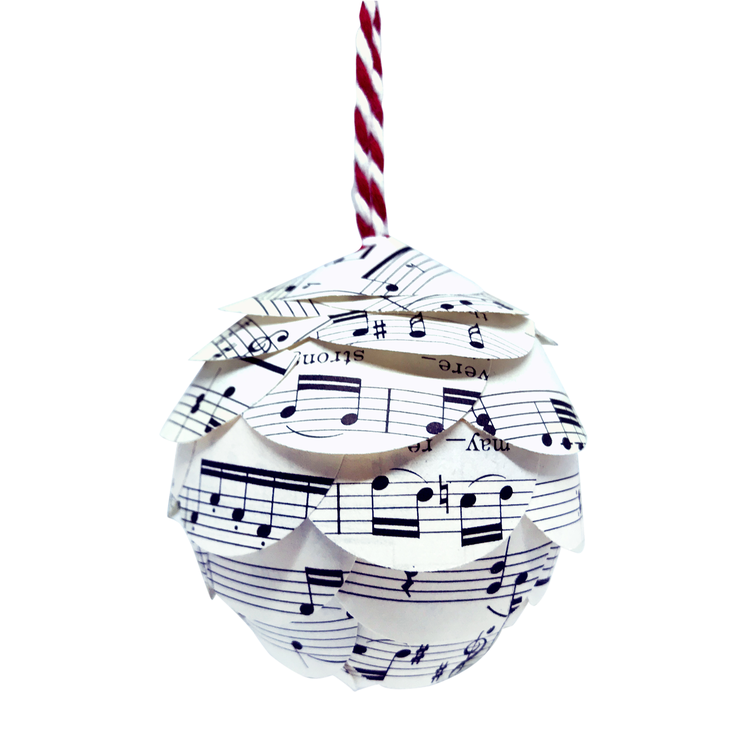 music christmas ornaments