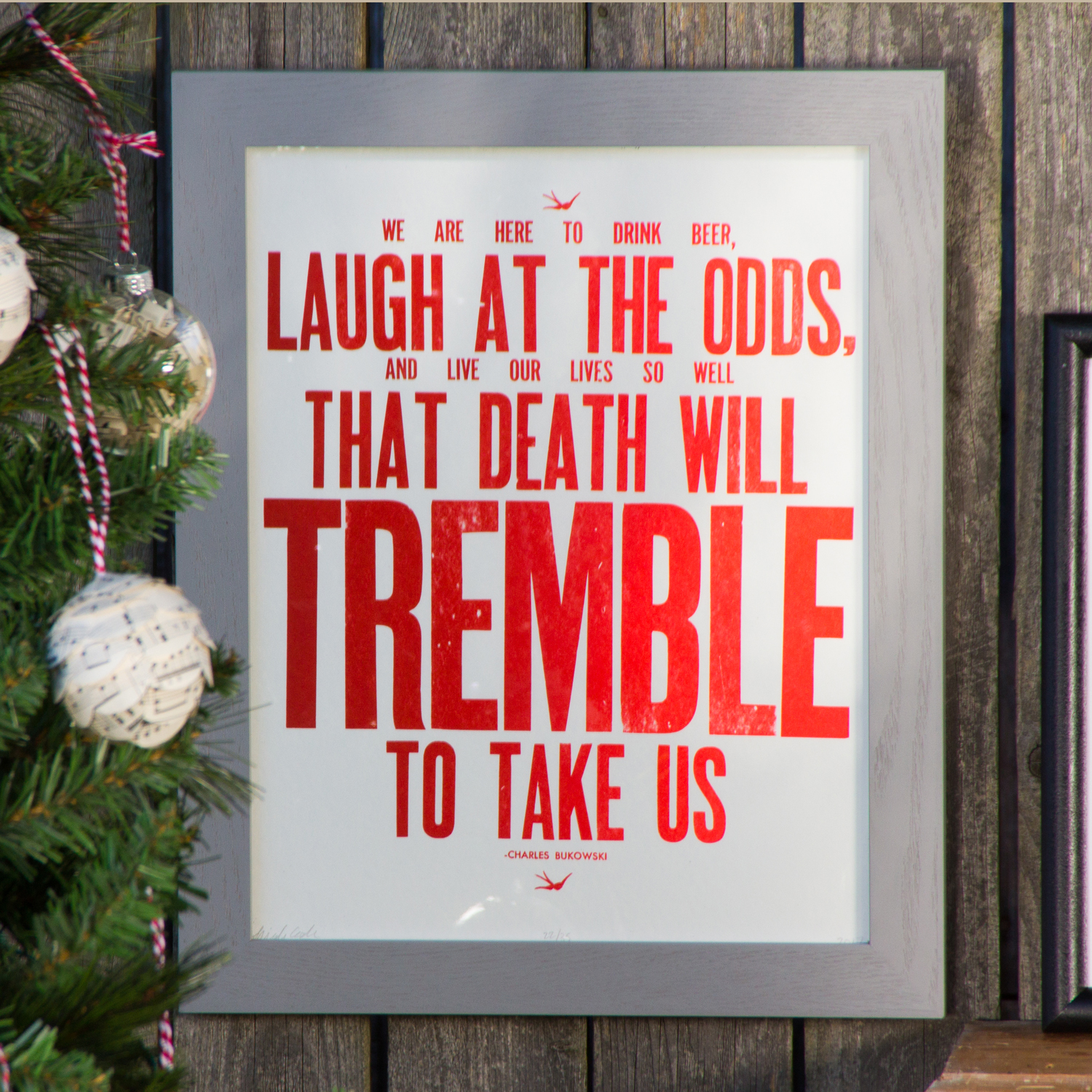 death will tremble print