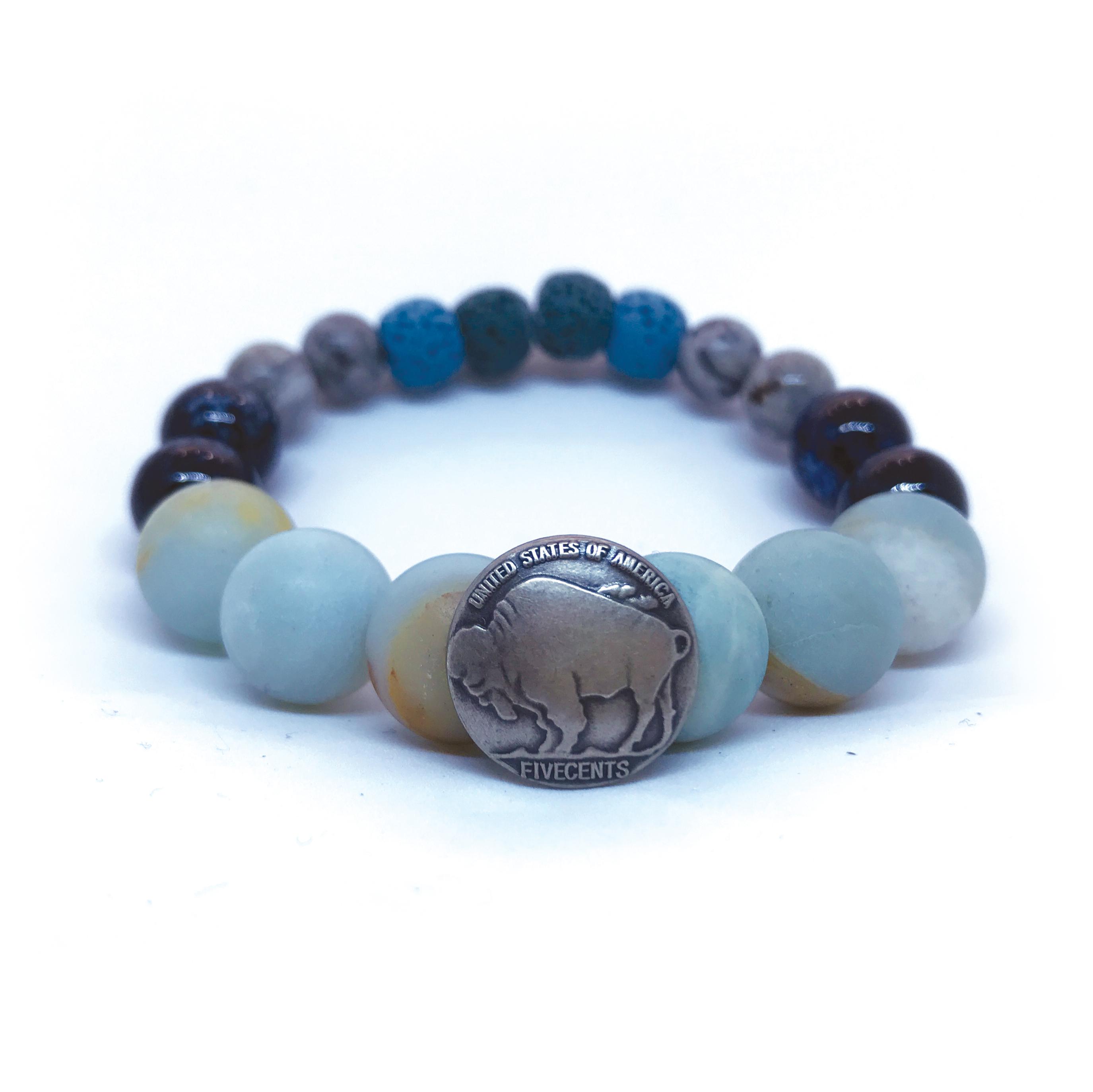 made in buffalo bracelet