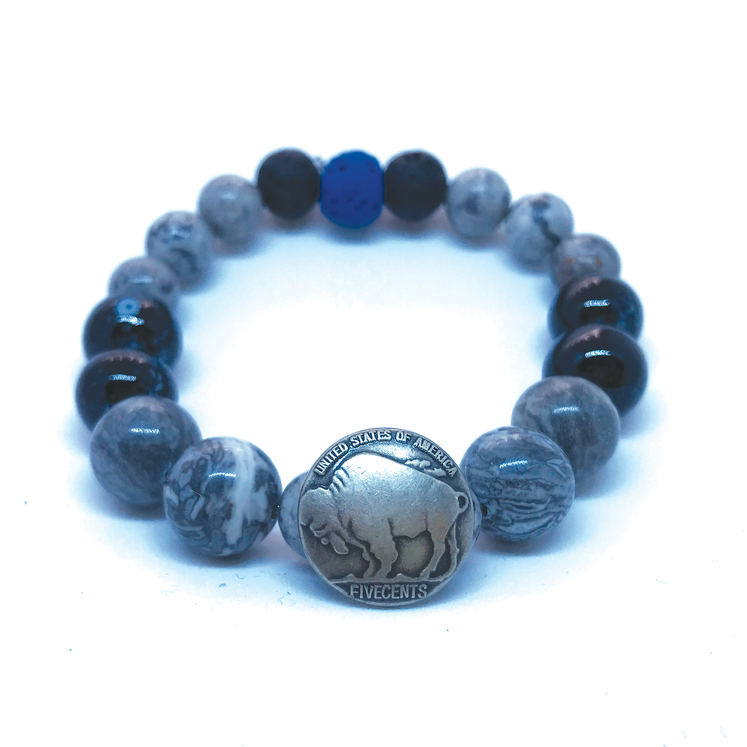 made in buffalo bracelet