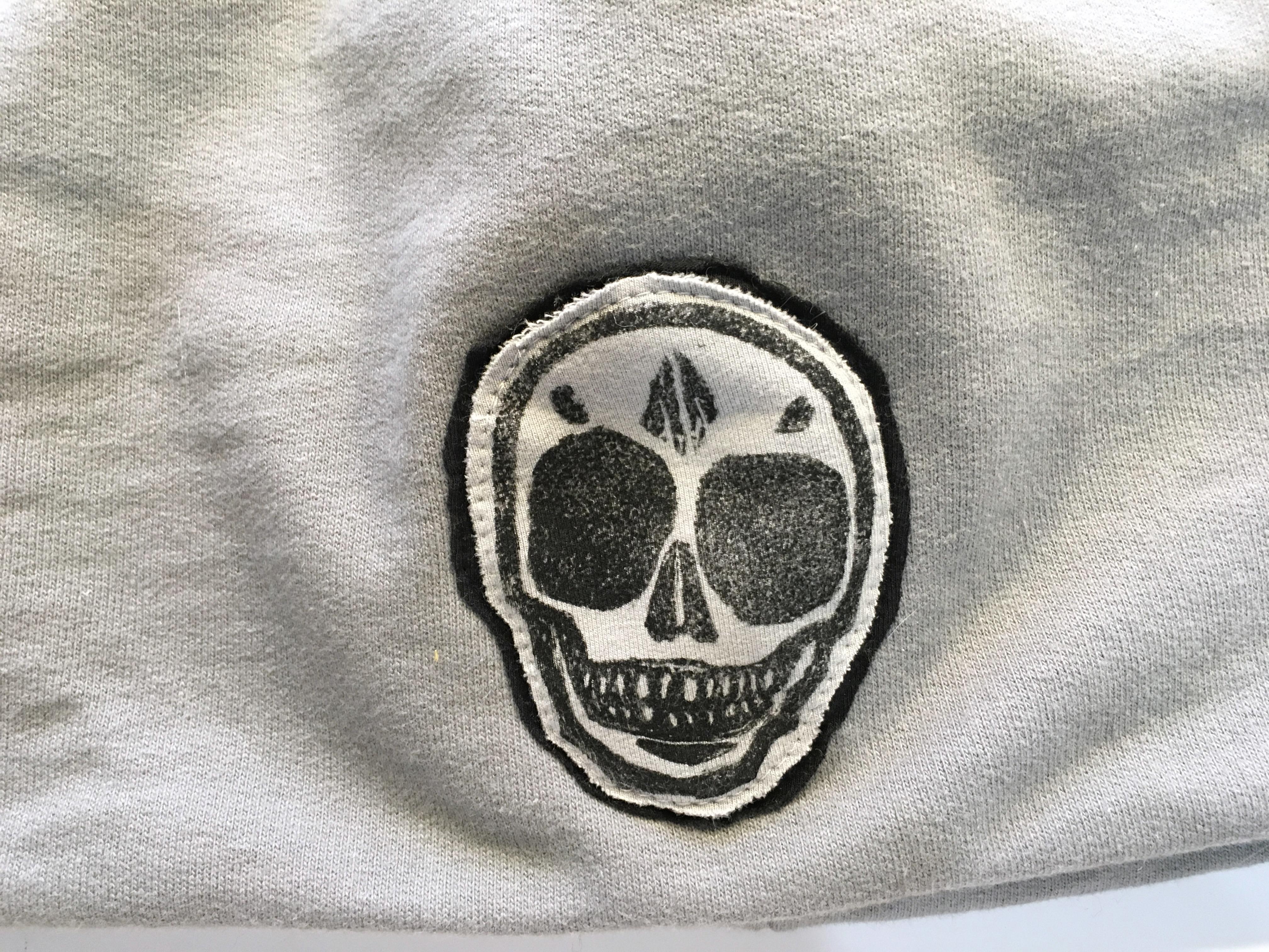 made in buffalo skull hat
