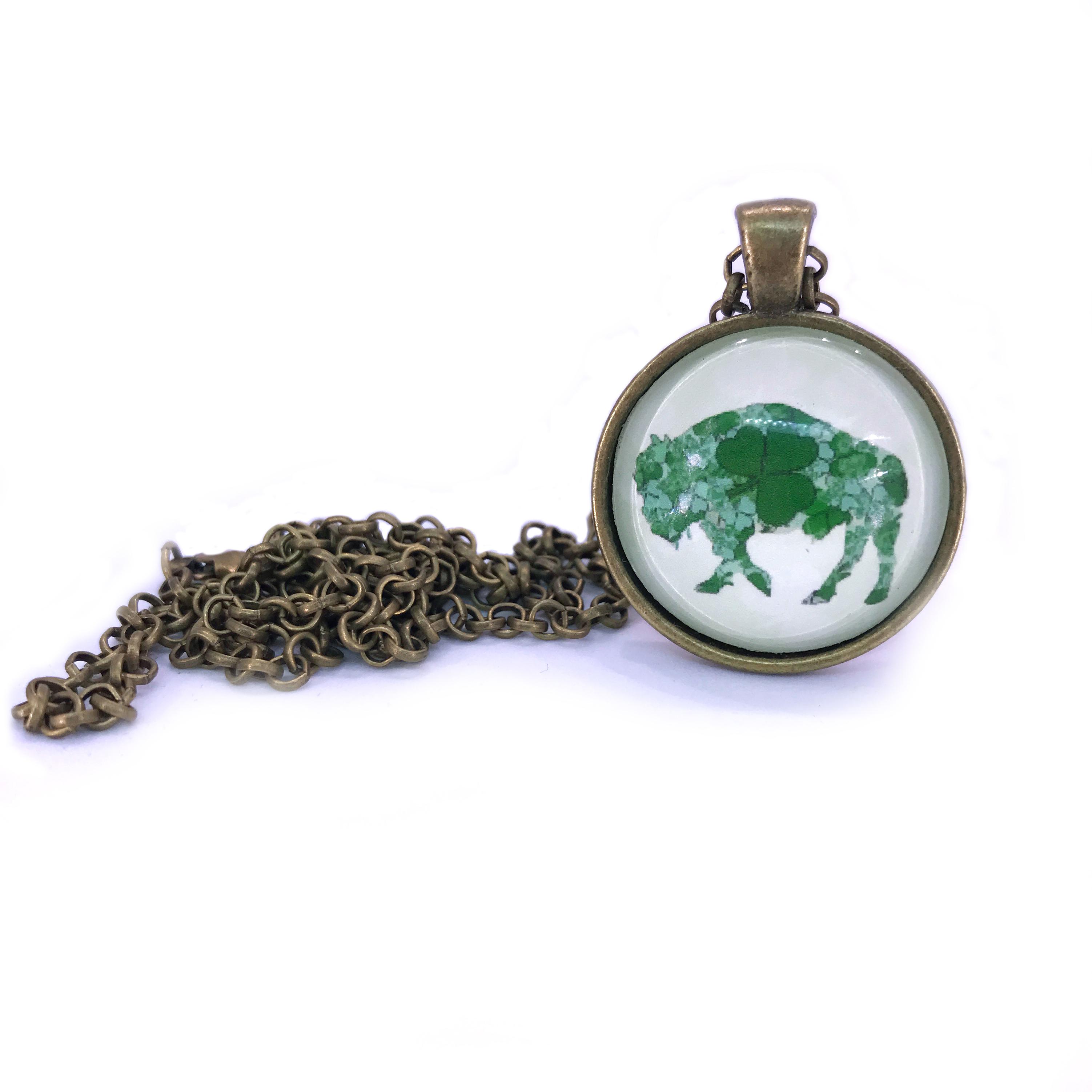 irish buffalo necklace