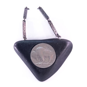 handmade buffalo nickel necklace