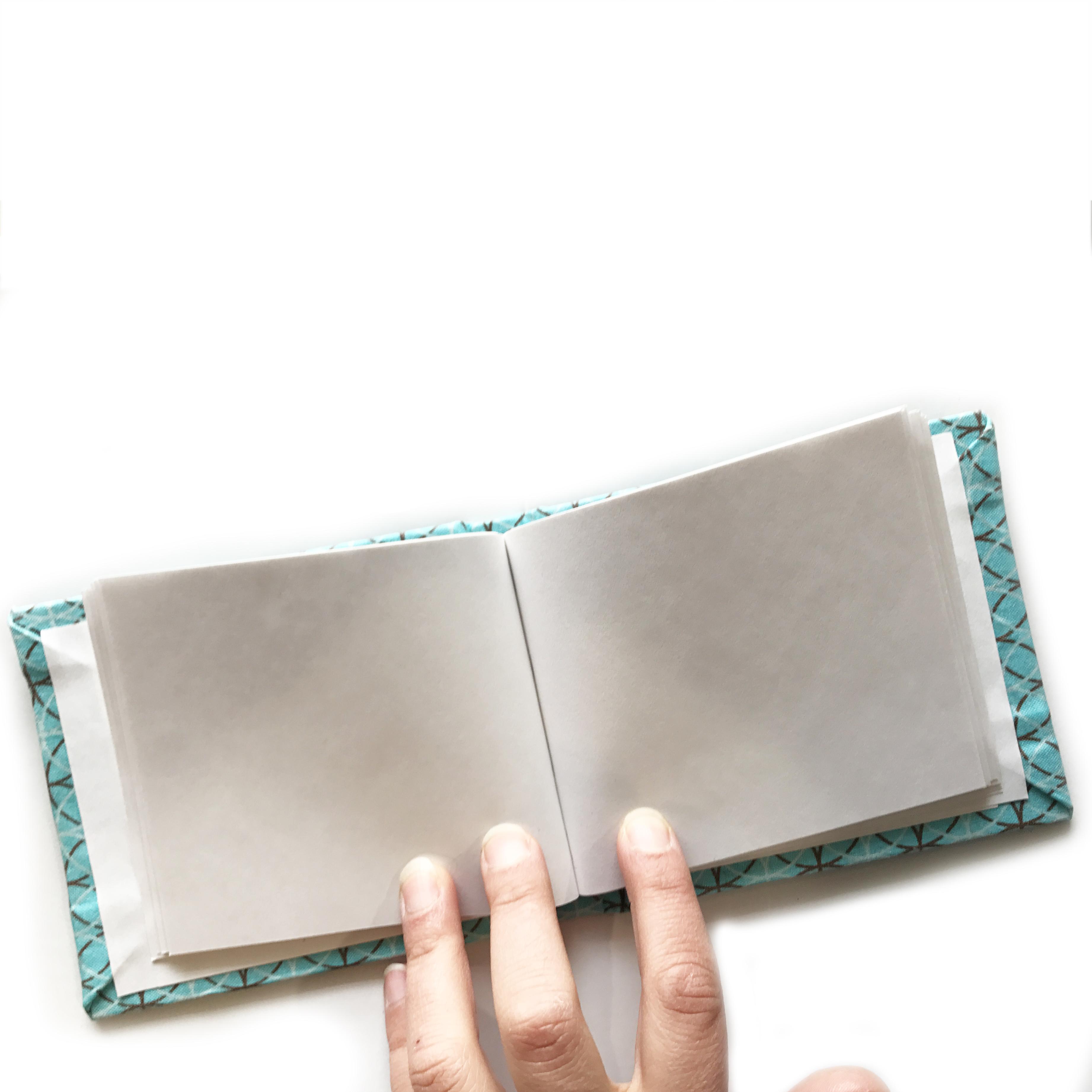 handmade in buffalo waterproof journal