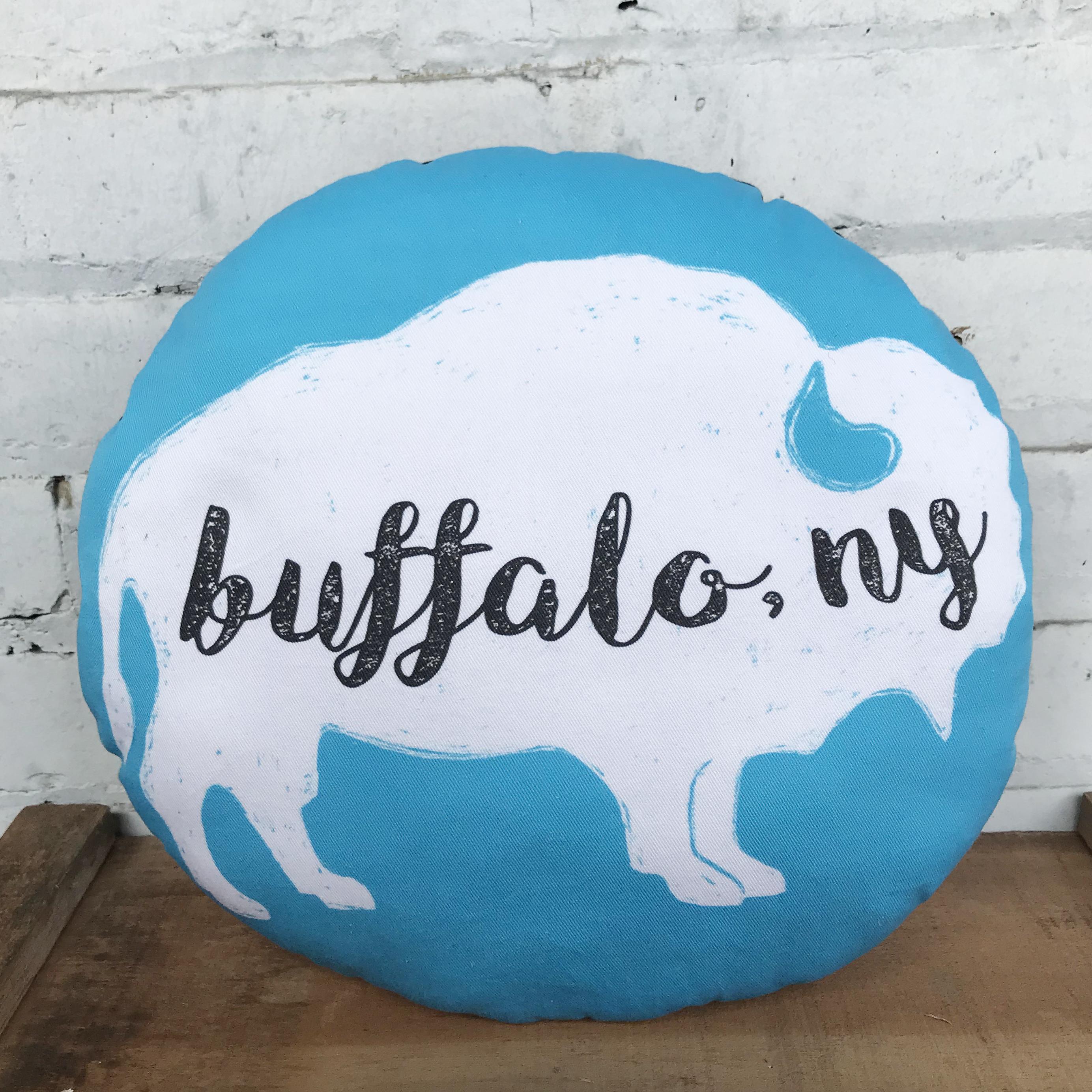 handmade buffalo cushion pillow
