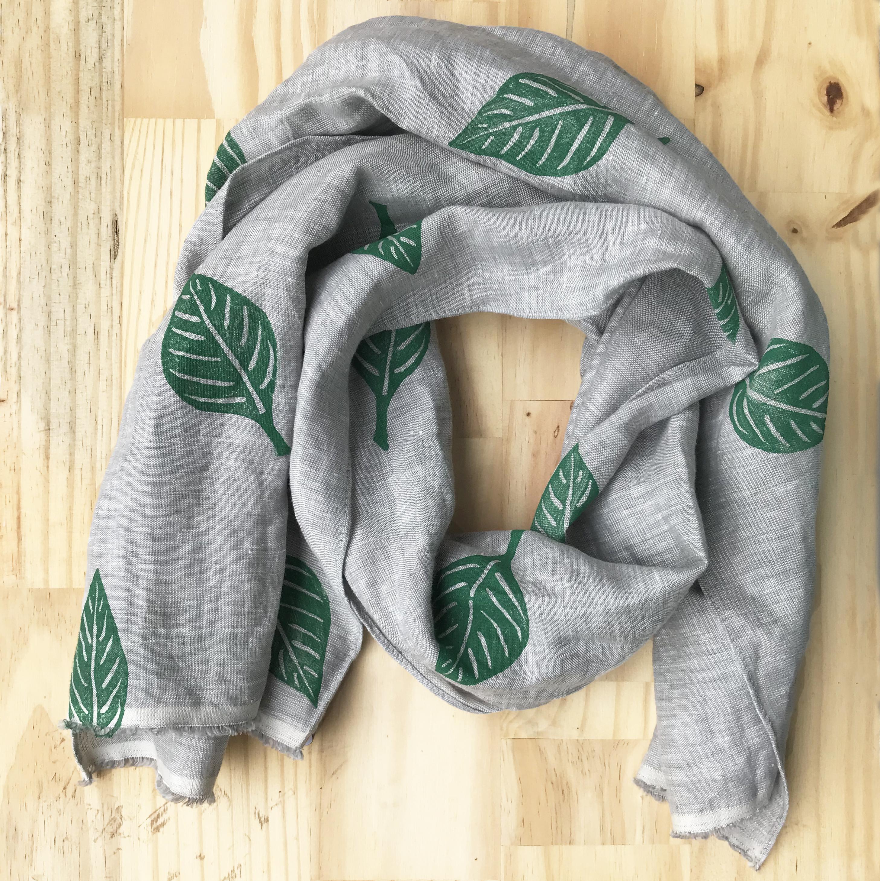 linen scarf made in buffalo ny