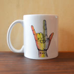 made in buffalo sign language gift