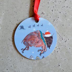 made in buffalo buffalo ny gift christmas ornament