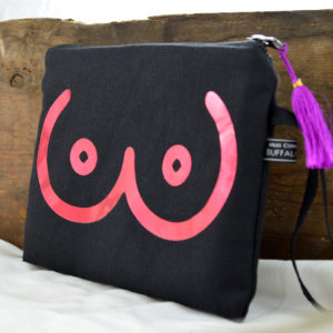 boobie clutch bag made in buffalo ny gift shop