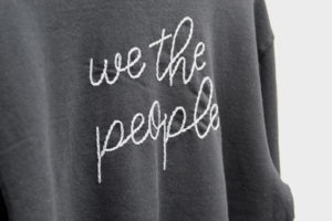 we the people sweatshirt made in buffalo ny gift shop