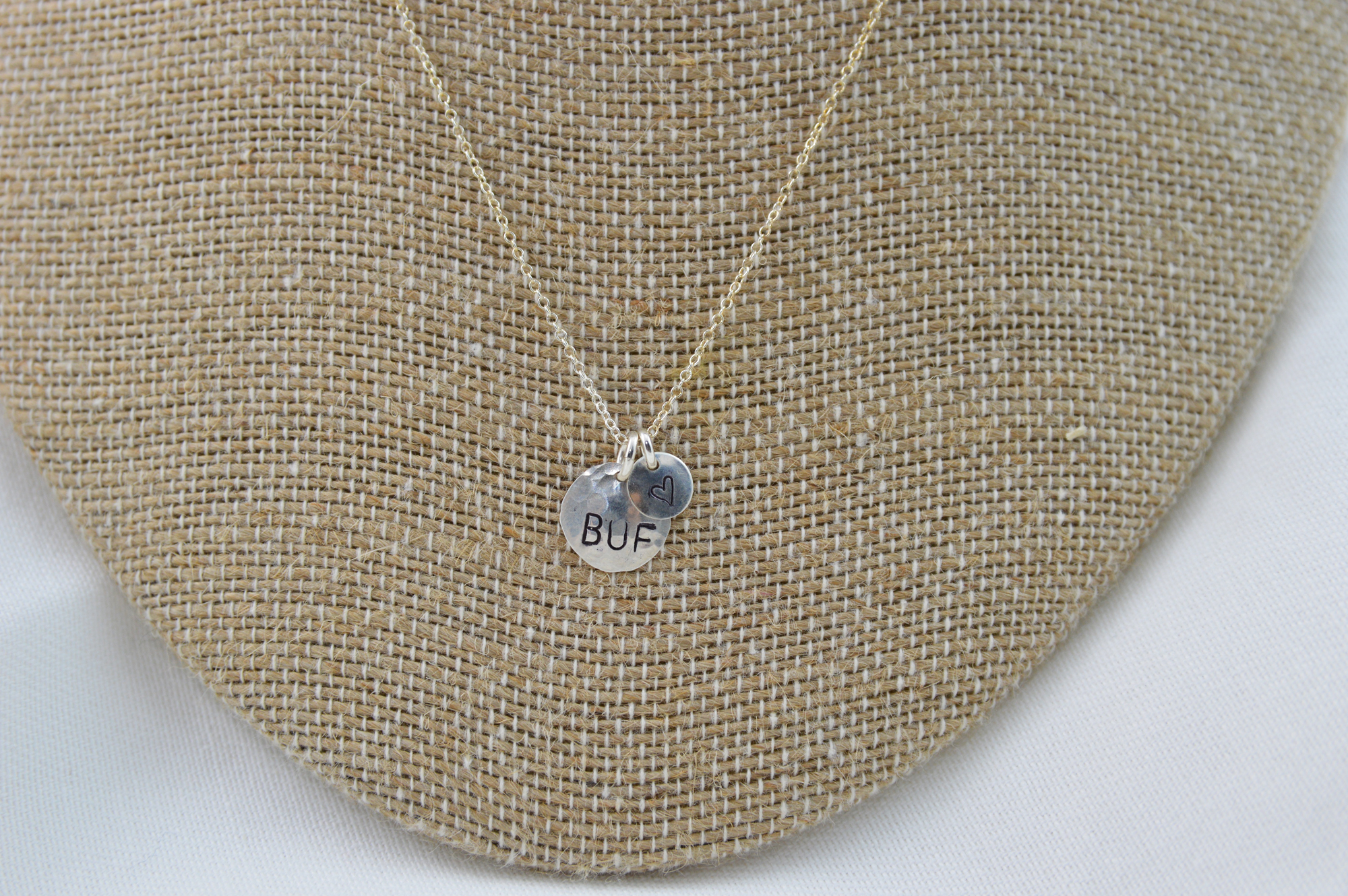 sterling silver buffalo necklace made in buffalo ny gift shop