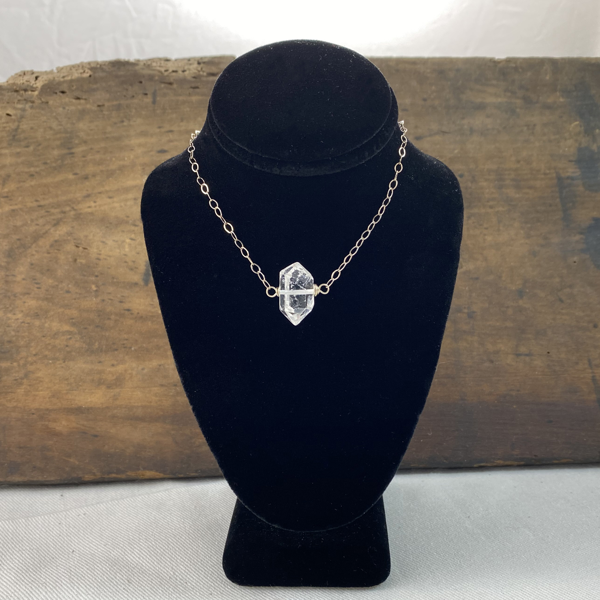 herkimer diamond necklace made in buffalo ny gift shop