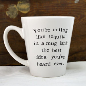 snarky coffee mug made in buffalo ny gift shop