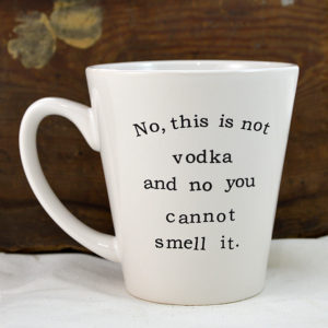 snarky coffe mug made in buffalo ny gift shop