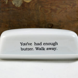 butter dish made in buffalo ny gift shop