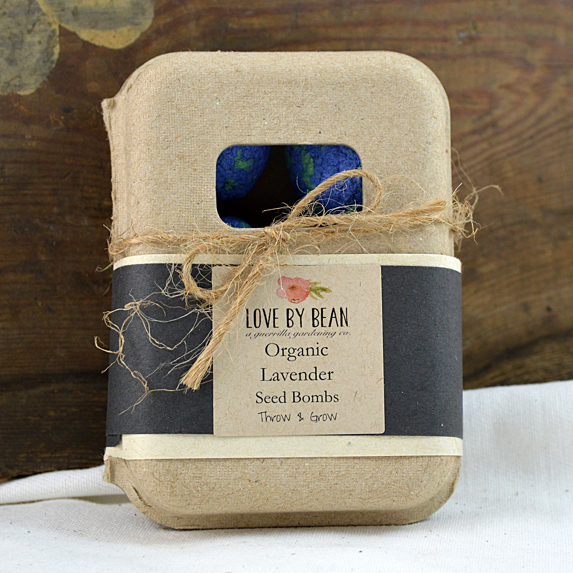 organic lavender seed bombs made in buffalo ny gift shop