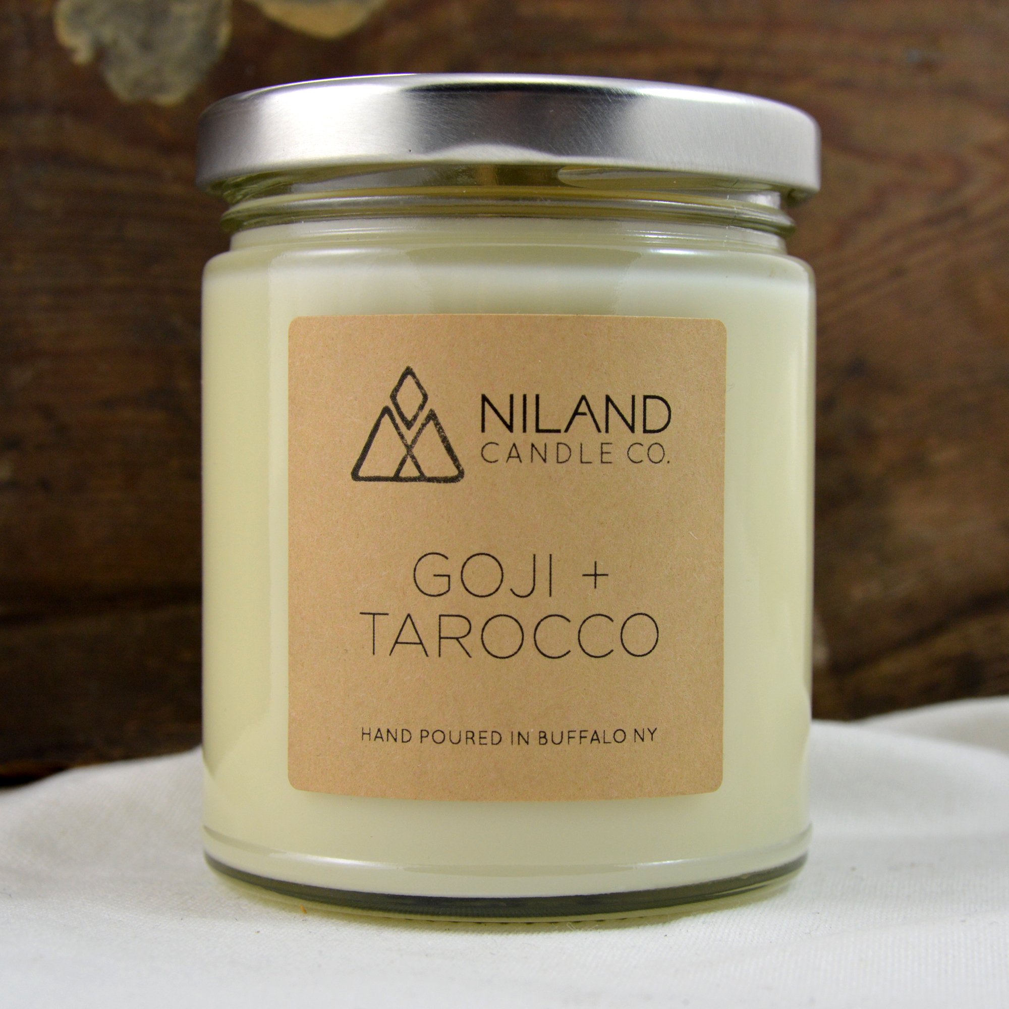 goji tarocco soy candle made in buffalo ny gift shop