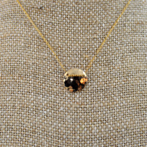 delicate gold necklace made in buffalo ny gift shop