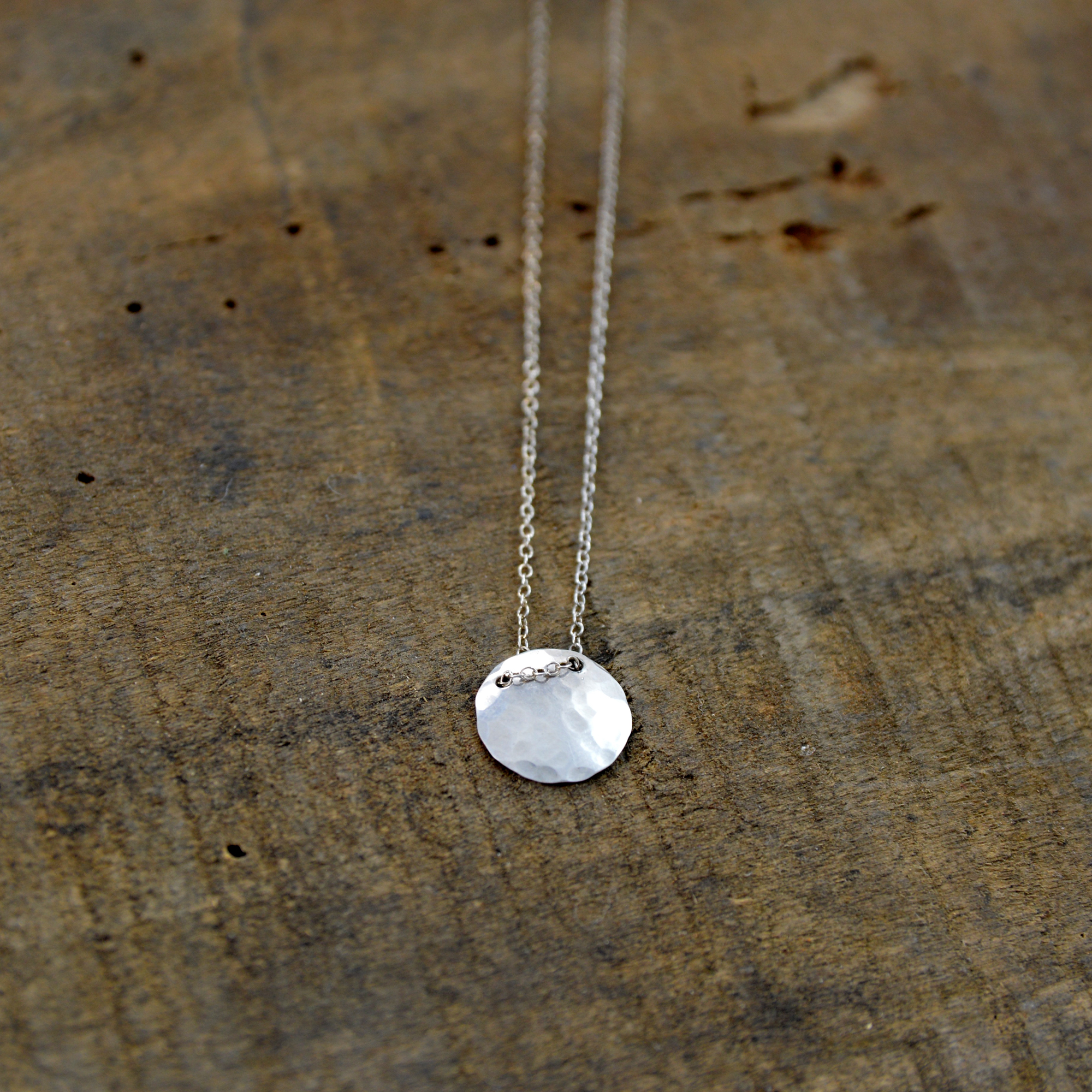 delicate silver necklace made in buffalo ny gift shop