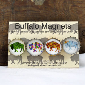 buffalo four seasons magnet set made in buffalo ny gift shop