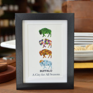 buffalo ny seasons home decor wall art made in buffalo ny gift shop