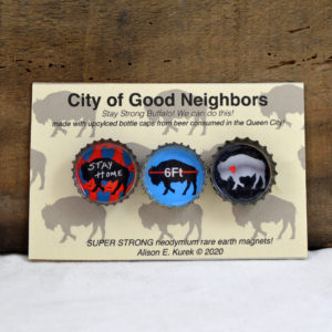 buffalo magnet set made in buffalo ny gift shop
