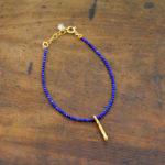 lapis stacking bracelet made in buffalo ny gift shop