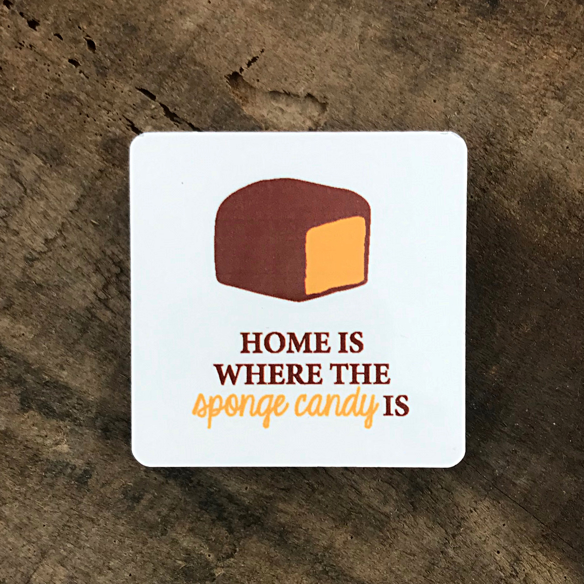 sponge candy magnet made in buffalo ny gift shop