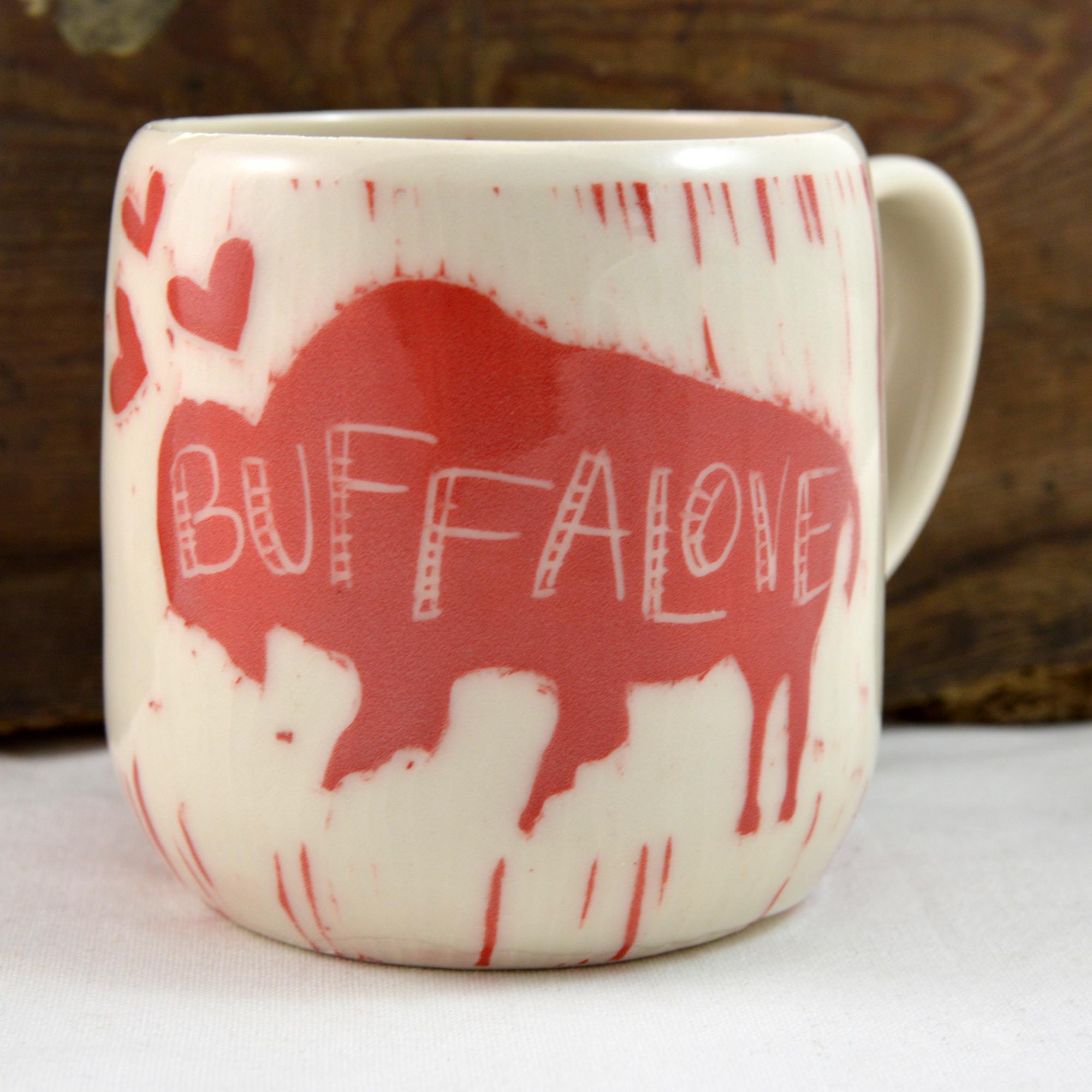 buffalo bison mug made in buffalo ny gift shop