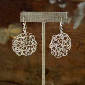 unique silver earrings handmade in buffalo ny gift shop
