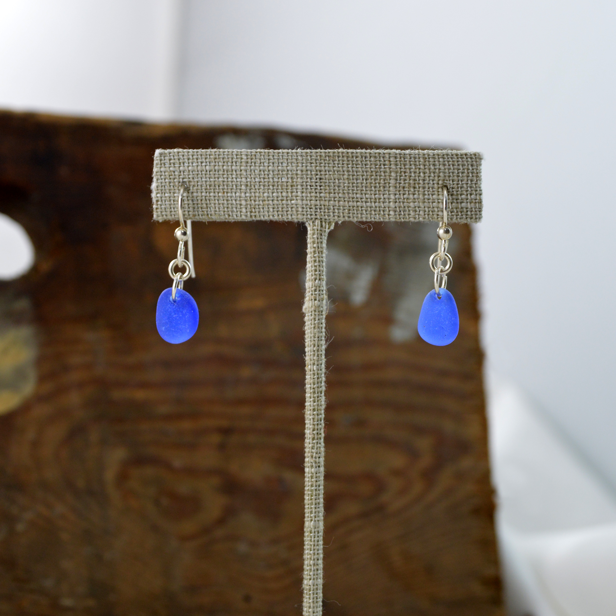 sea glass earrings made in buffalo ny gift shop