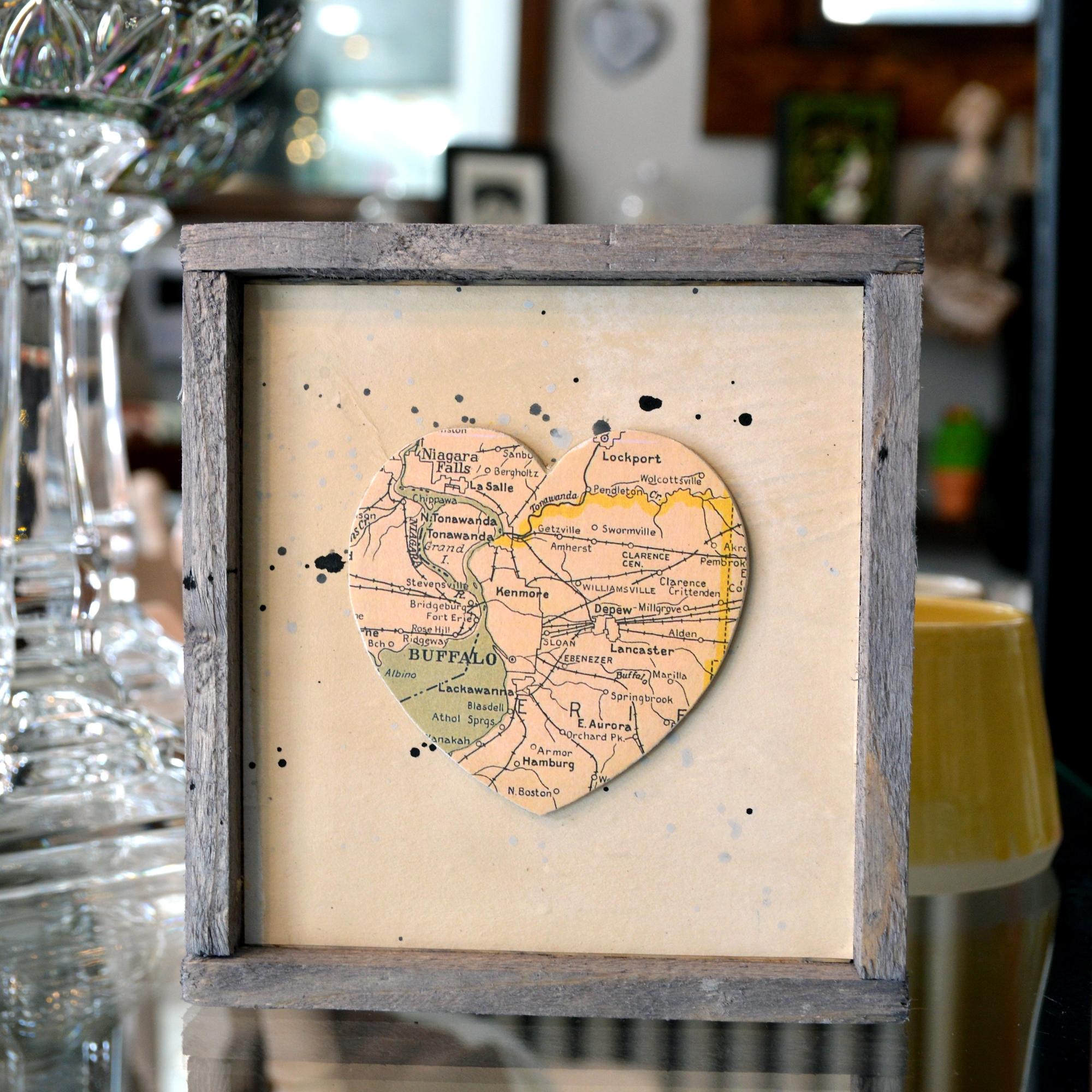 buffalo heart home decor made in buffalo ny gift shop