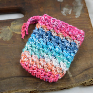 crochet cotton soap saver made in buffalo ny gift shop