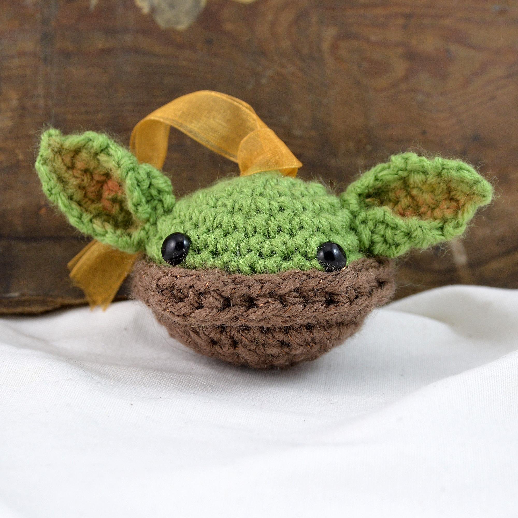 baby yoda ornament made in buffalo ny gift shop