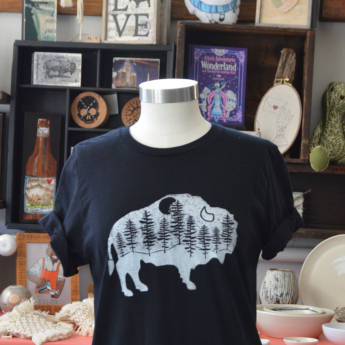 buffalo woods buffalo t-shirt made in buffalo ny gift shop