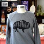 buffalo bison ny sweatshirt made in buffalo ny gift shop