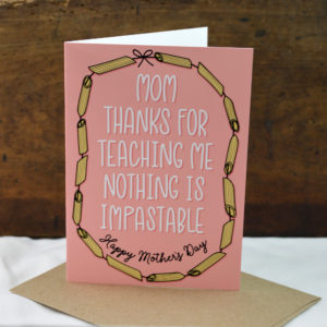 mothers day card made in buffalo ny gift shop