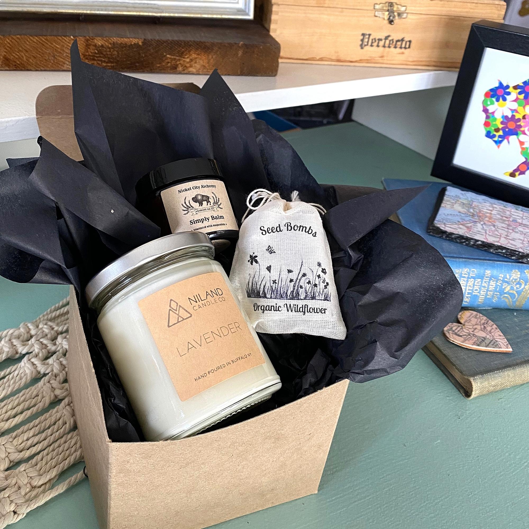 sympathy care package buffalo ny gift shop