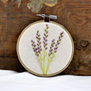 embroidery lavender home decor made in buffalo ny gift shop