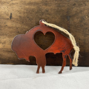 heart buffalo ornament made in buffalo ny gift shop