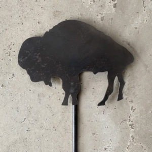 buffalo lawn stake made in buffalo ny gift shop