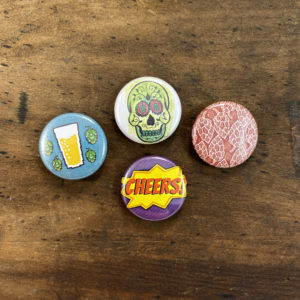 beer button set made in buffalo ny gift shop