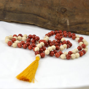 coral fossil mala made in buffalo ny gift shop