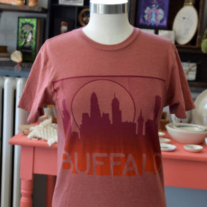 buffalo ny skyline t shirt made in buffalo ny gift shop