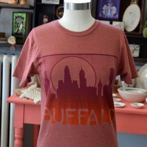 buffalo ny skyline t shirt made in buffalo ny gift shop